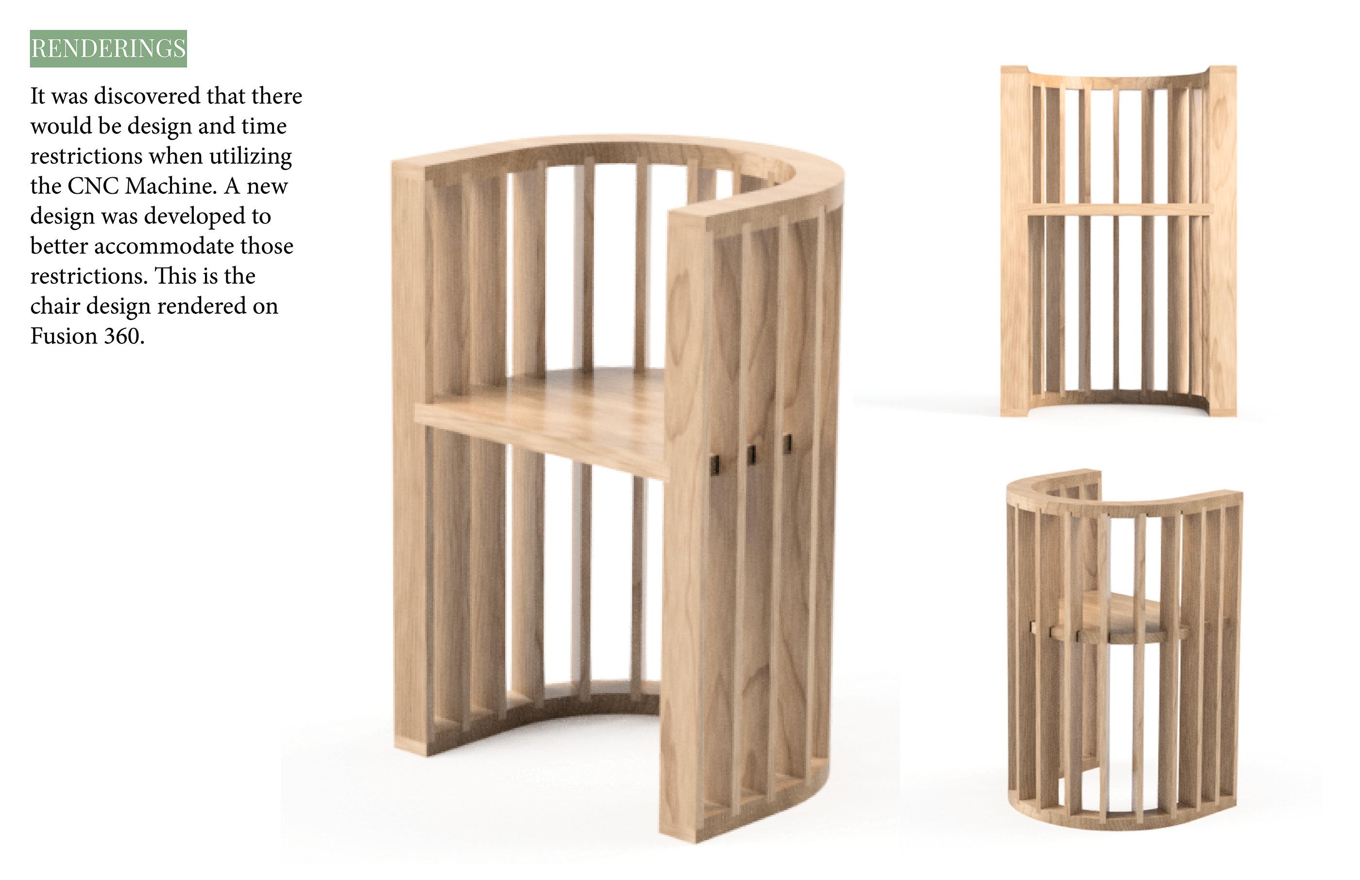 Umu : CNC Chair on Behance