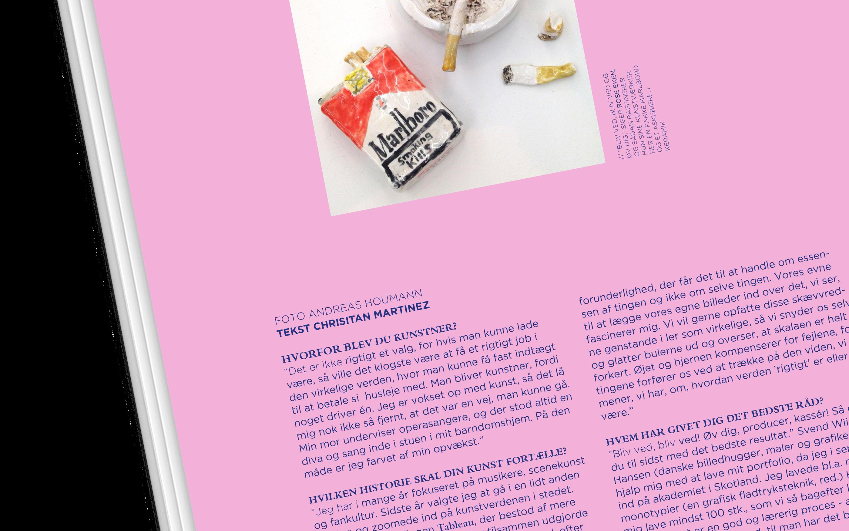 Magazine redesign VÆRK | Editorial Design on Behance