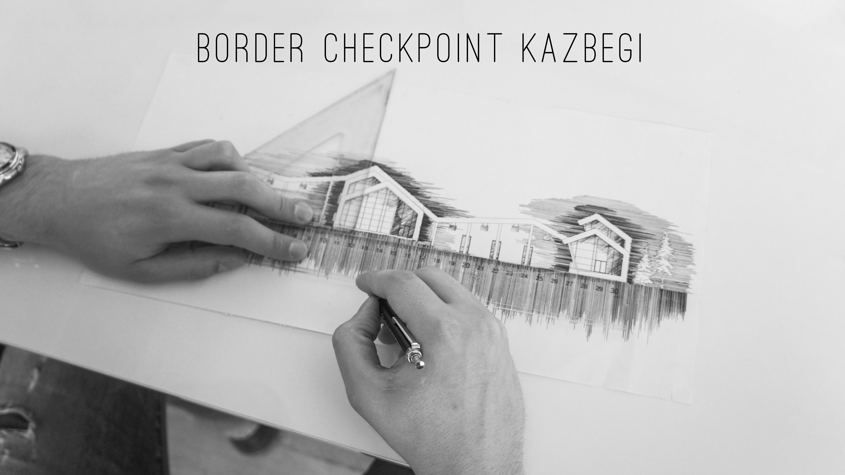 Border checkpoint Kazbegi / ყაზბეგის საბაჟო on