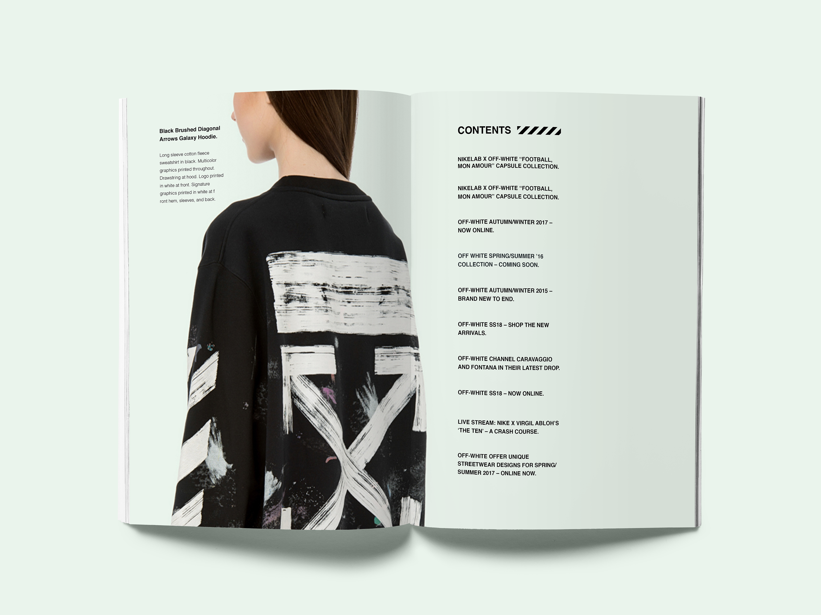 64176c0a3 END: OFF WHITE MAGAZINE on Behance