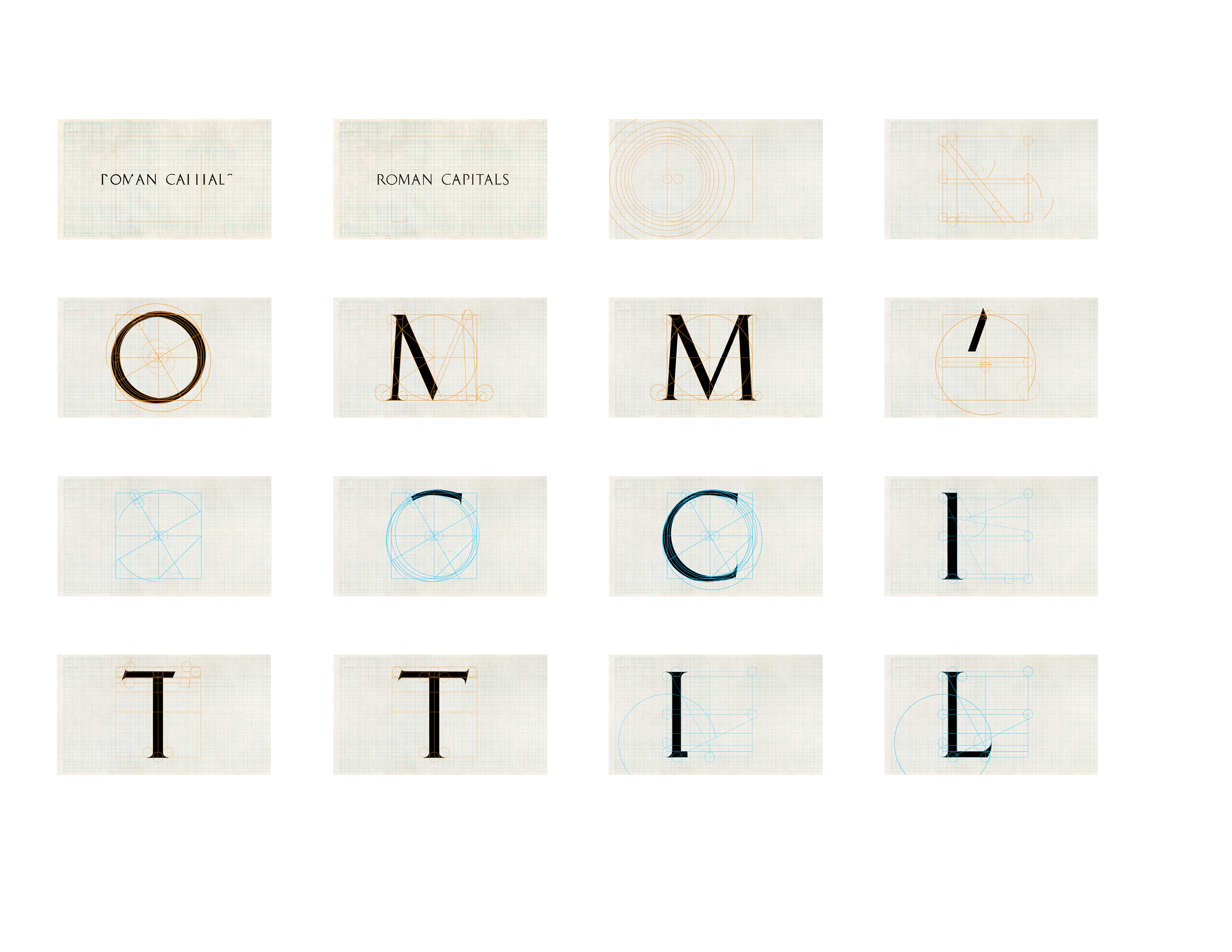 Roman Capitals Technical Drafting Motion on Behance