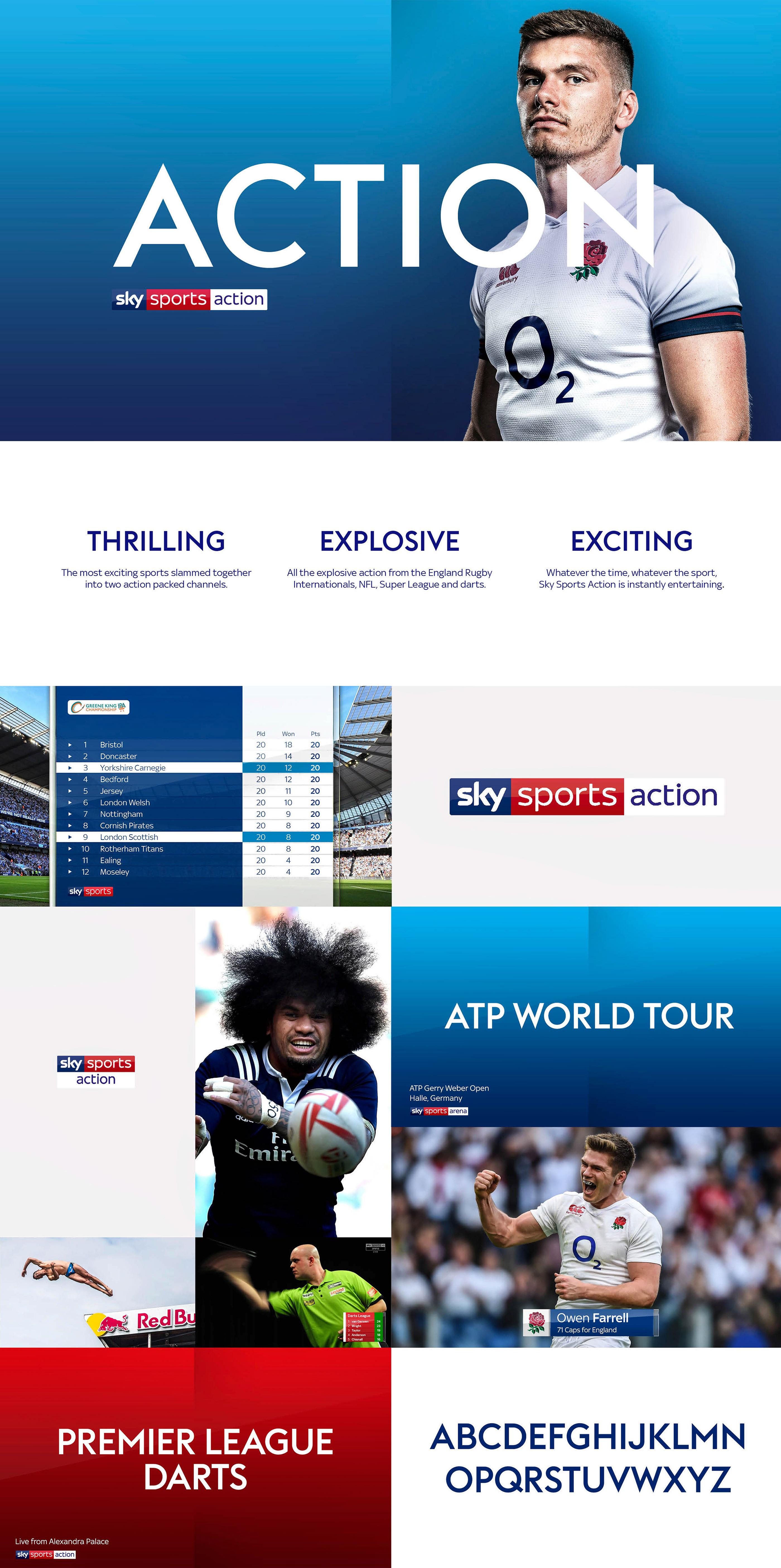 Sky Sports Rebrand on Behance