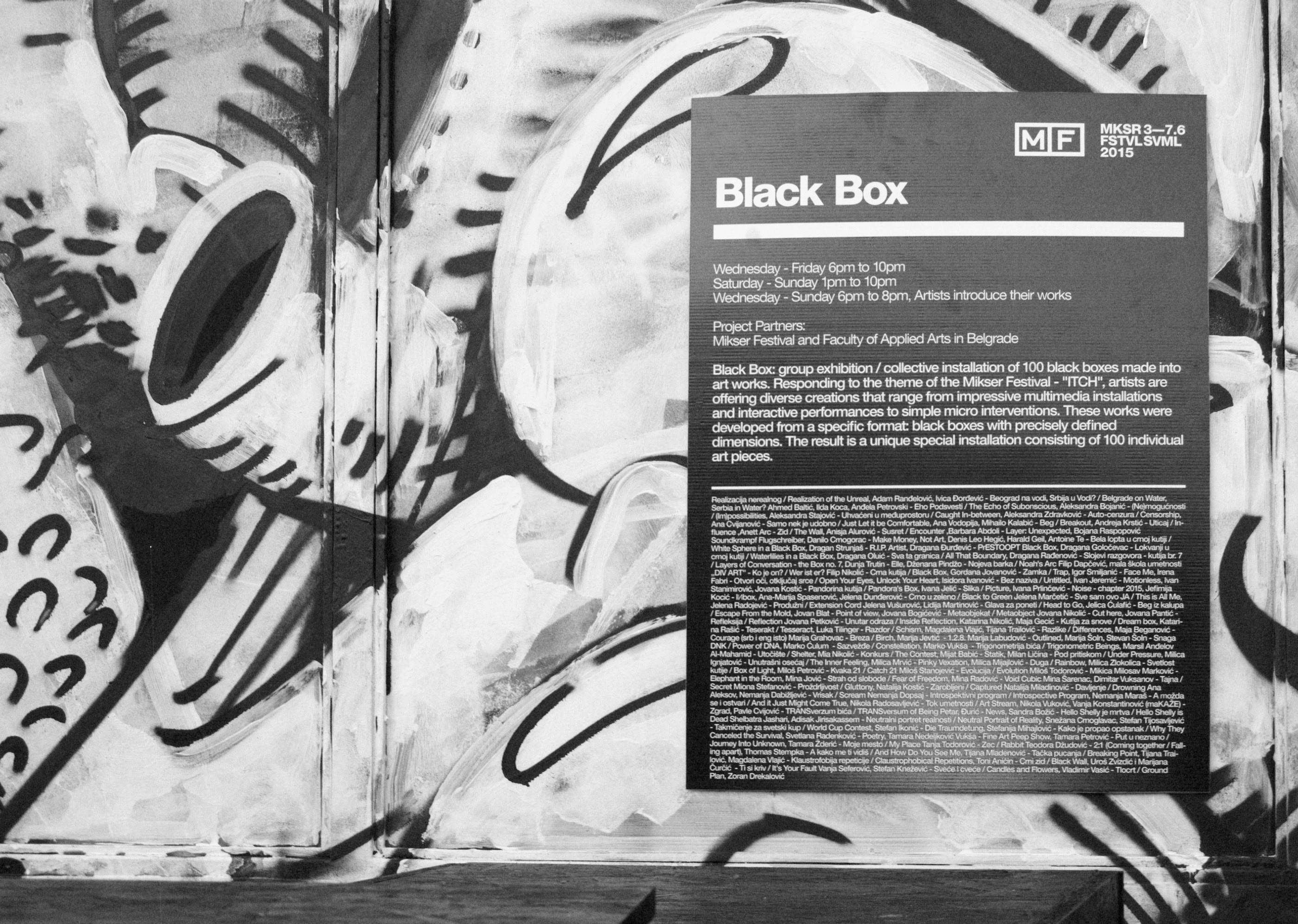 Black Box On Behance