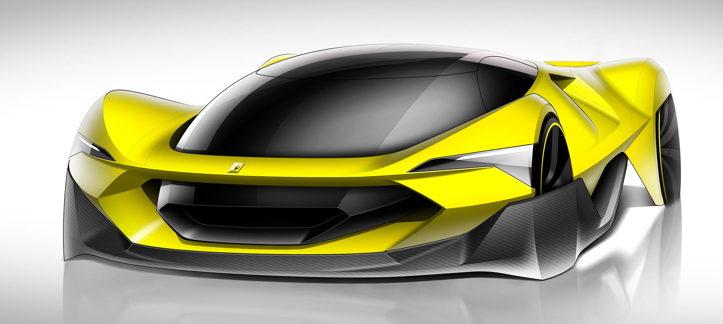 Ferrari Ev On Behance