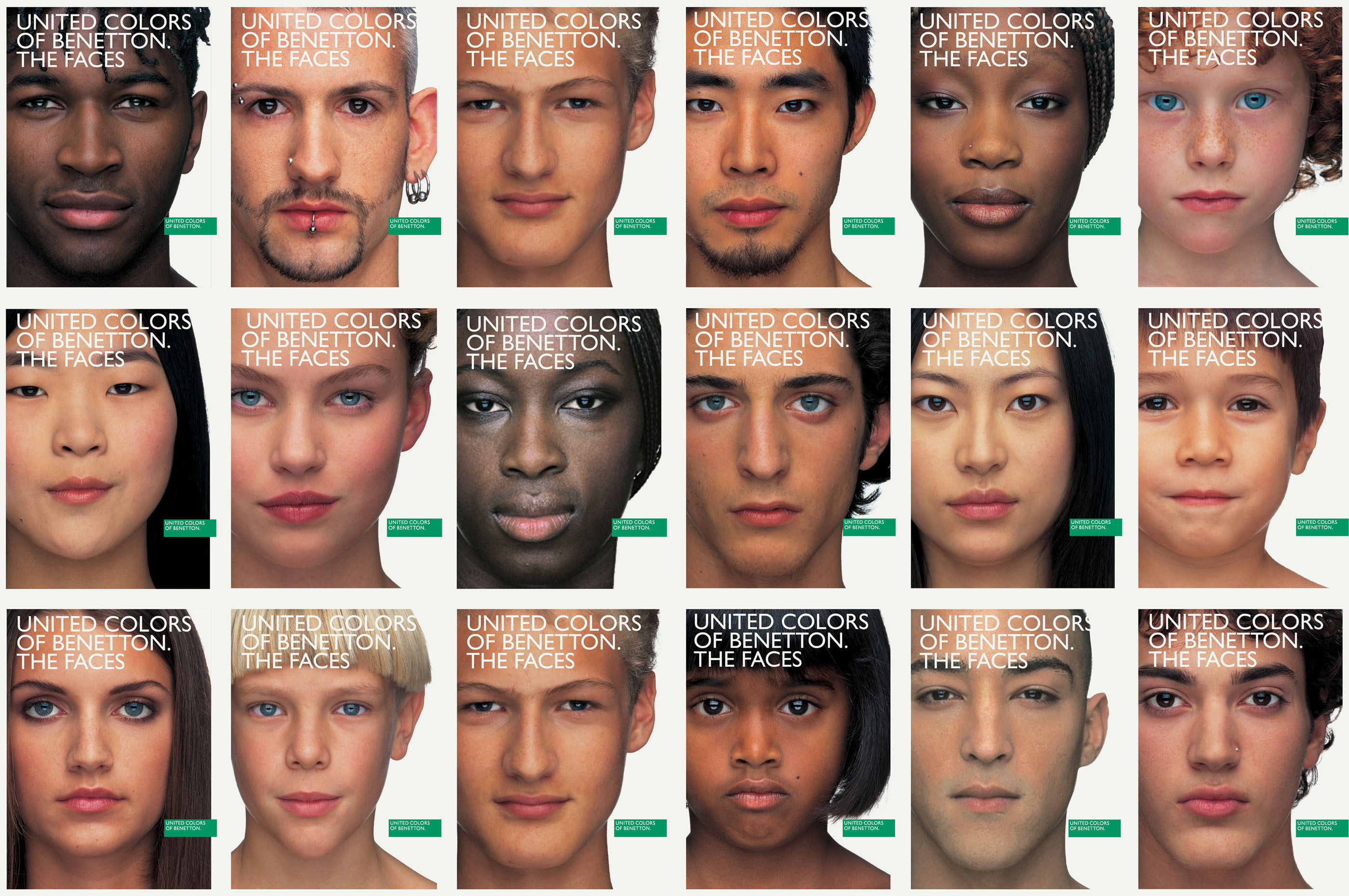 bc90e687ca3 The Faces - United Colors Of Benetton on Behance