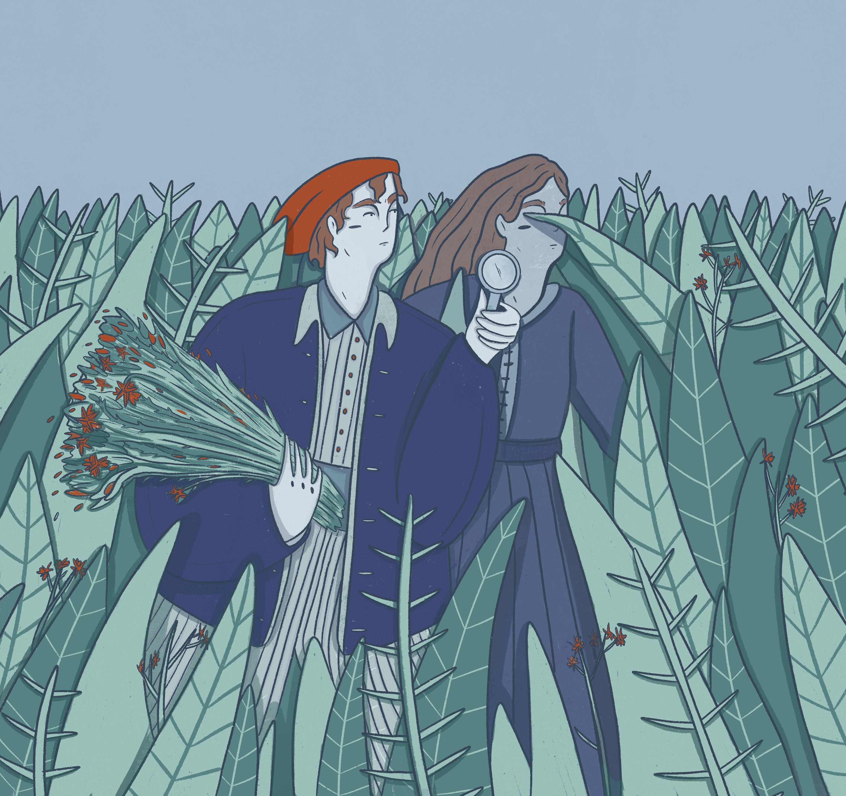 The Discovery of Jeanne Baret on Behance