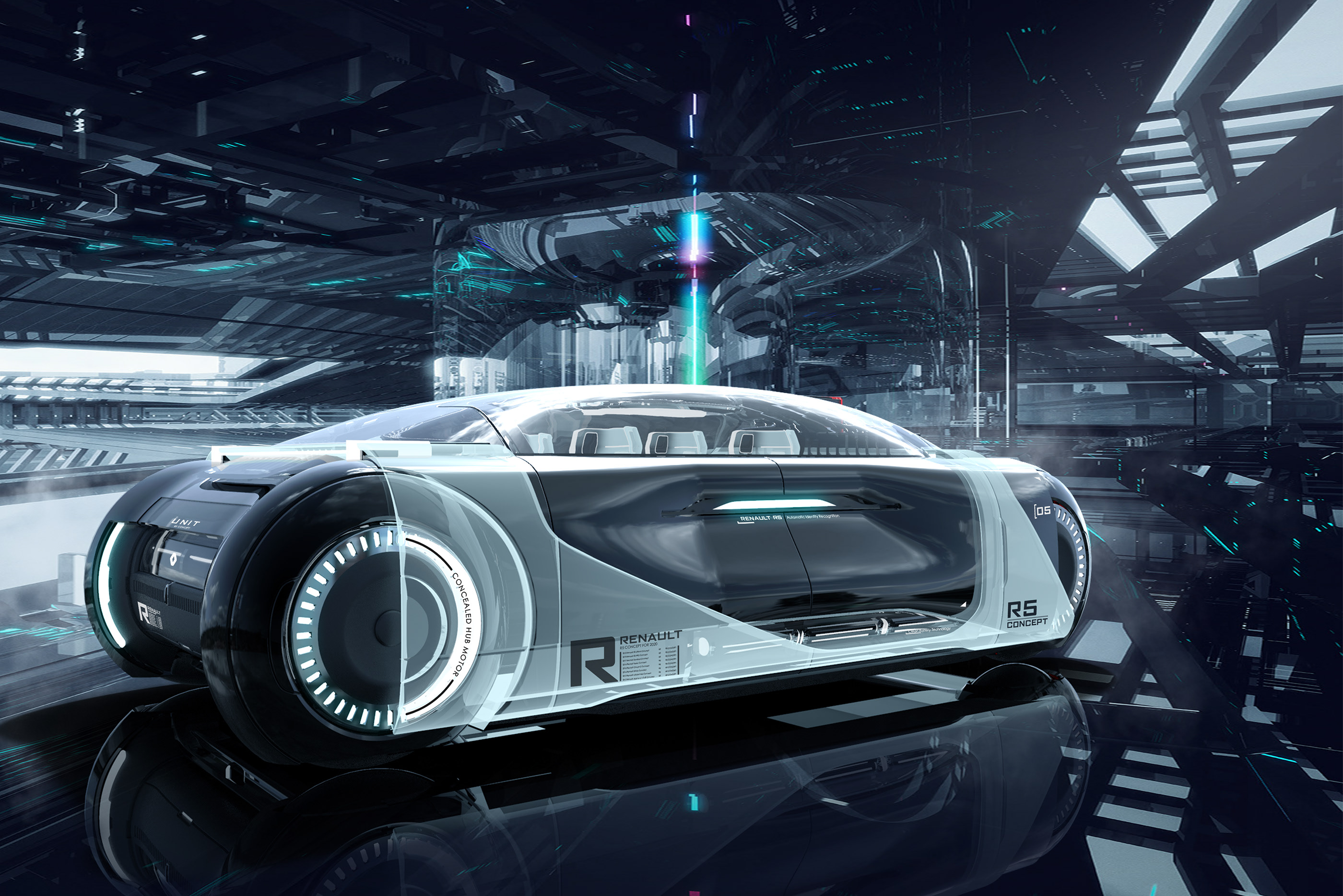 Renault 05 Concept On Behance
