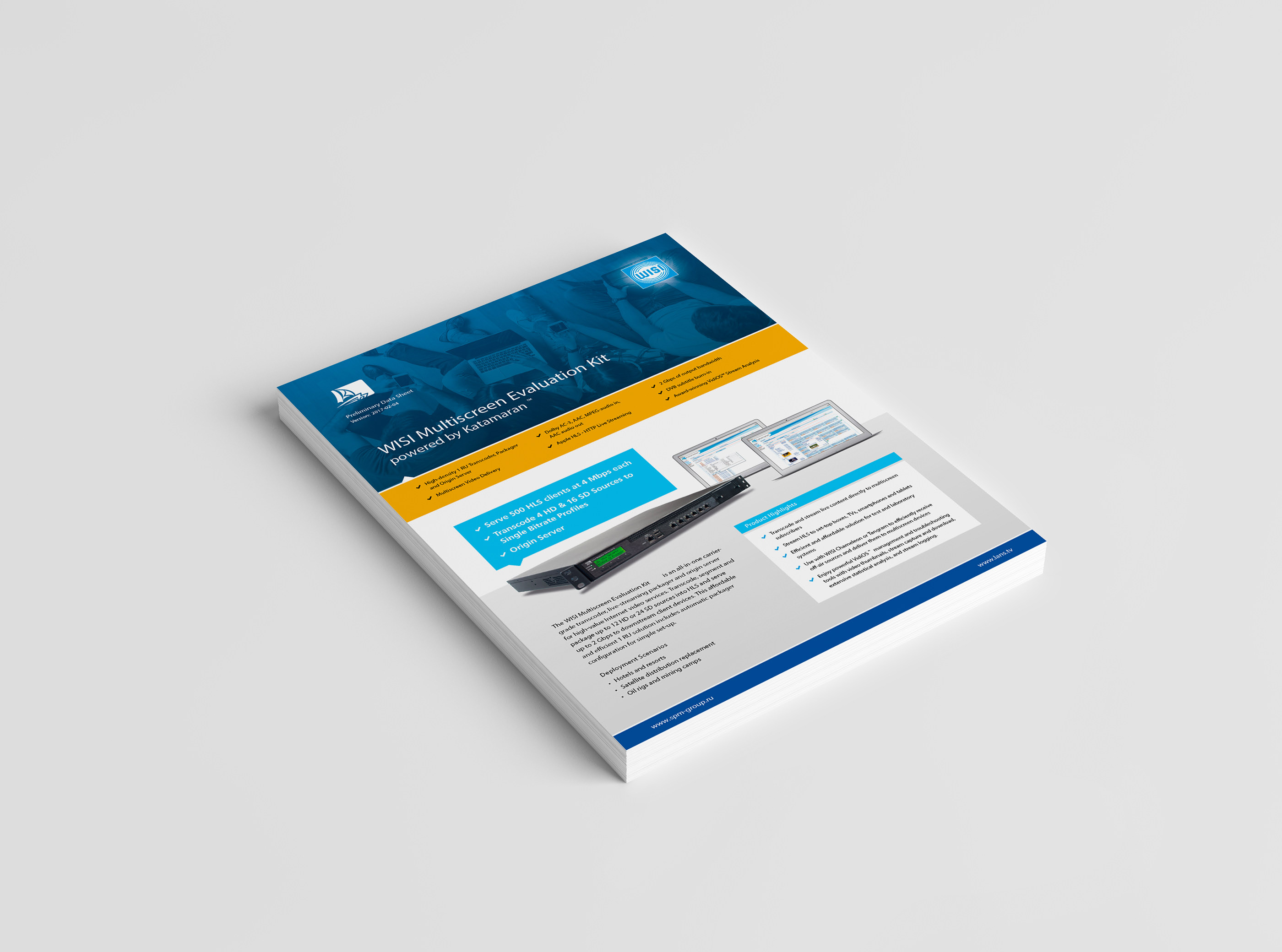 Leaflet on Behance
