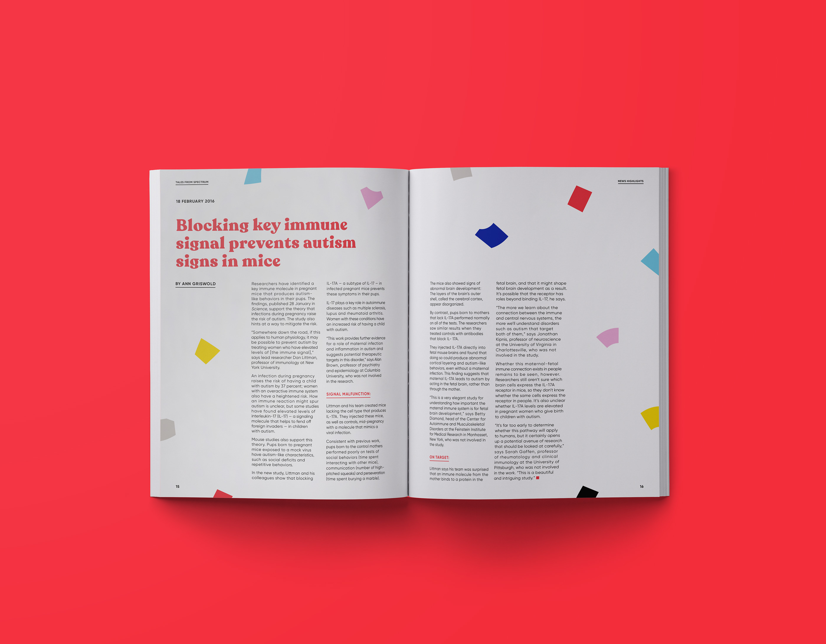 Tales from Spectrum Annual Book Design on Behance