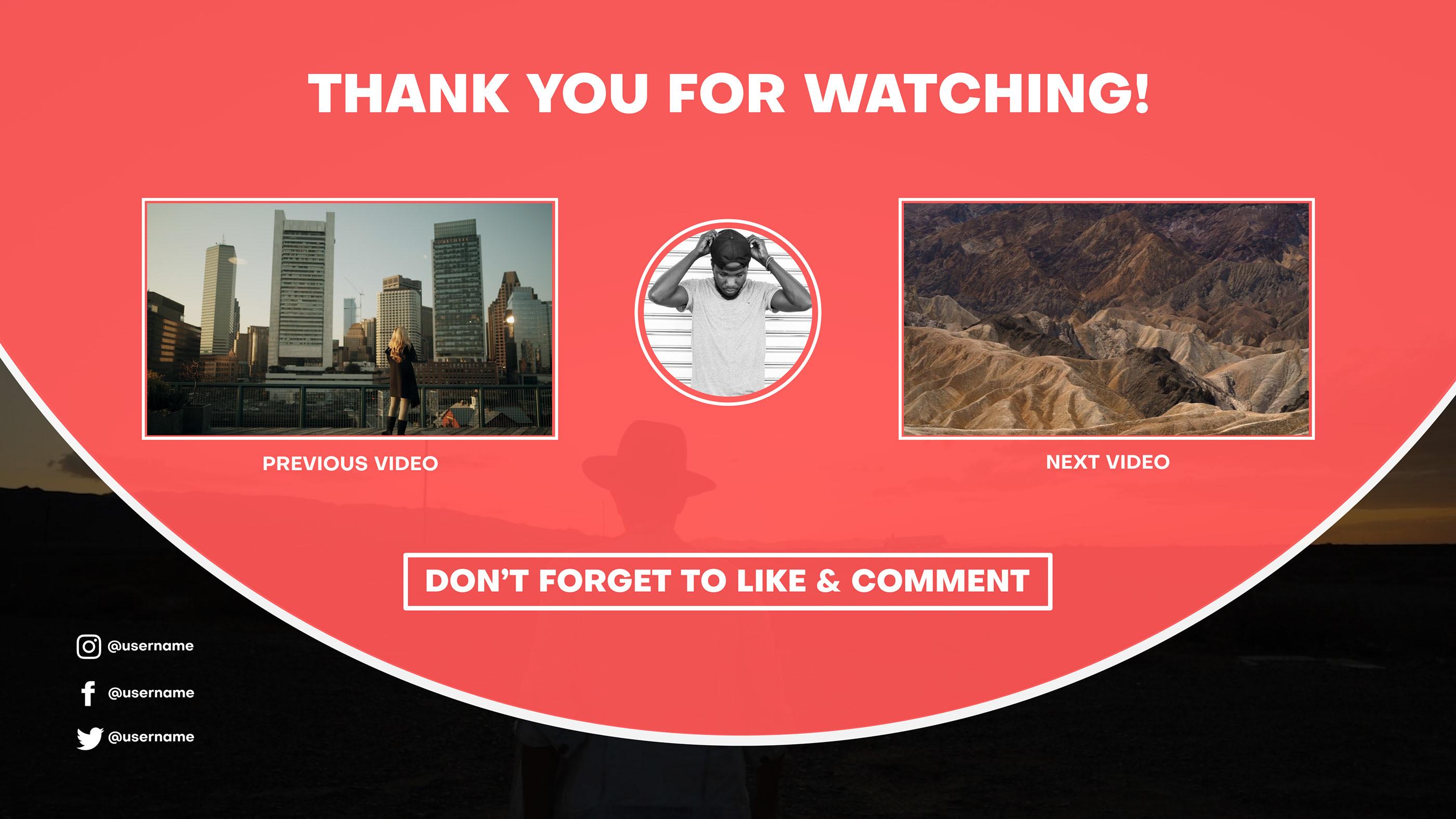 YouTube End Screens - 6