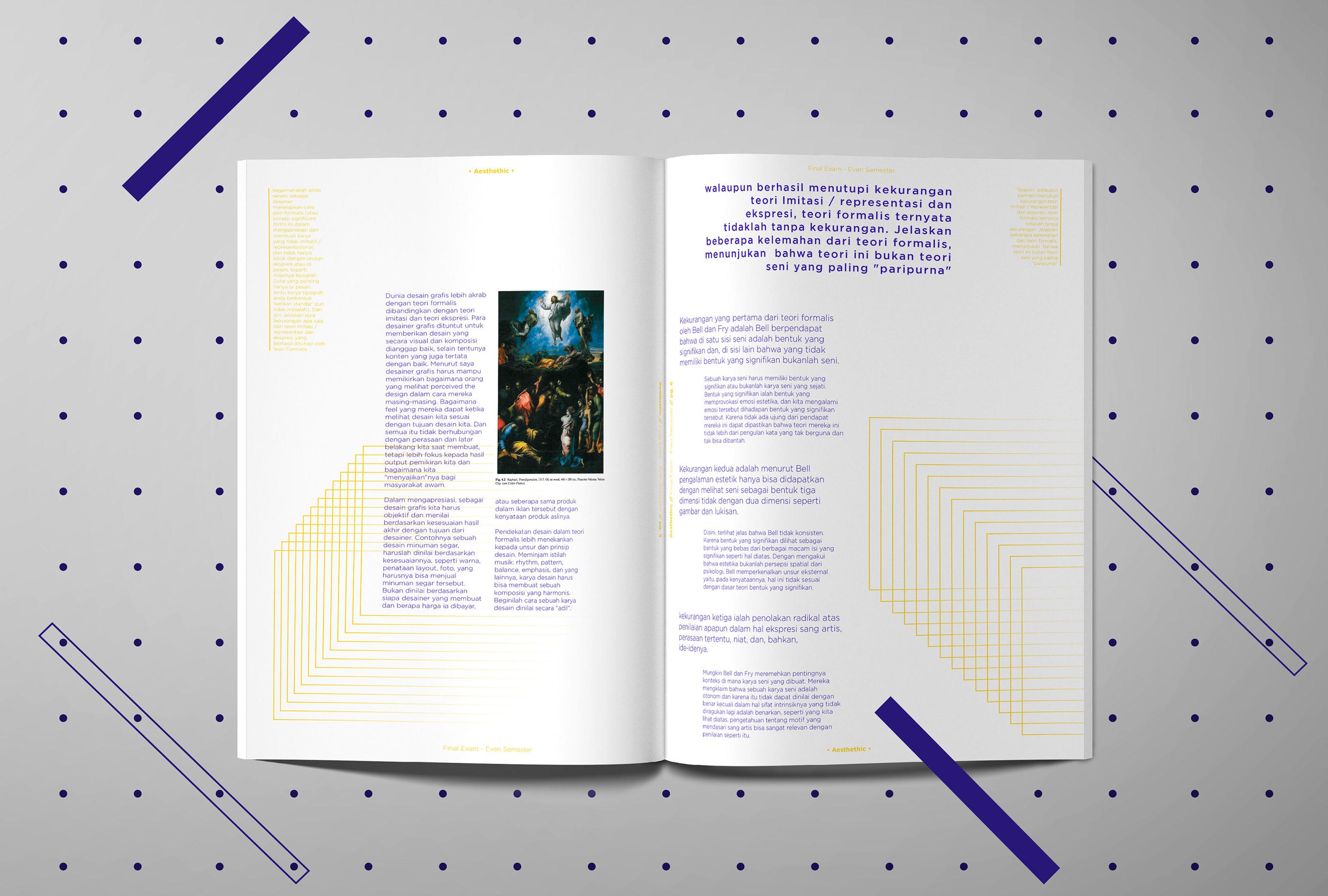 Aesthethic Booklet On Behance