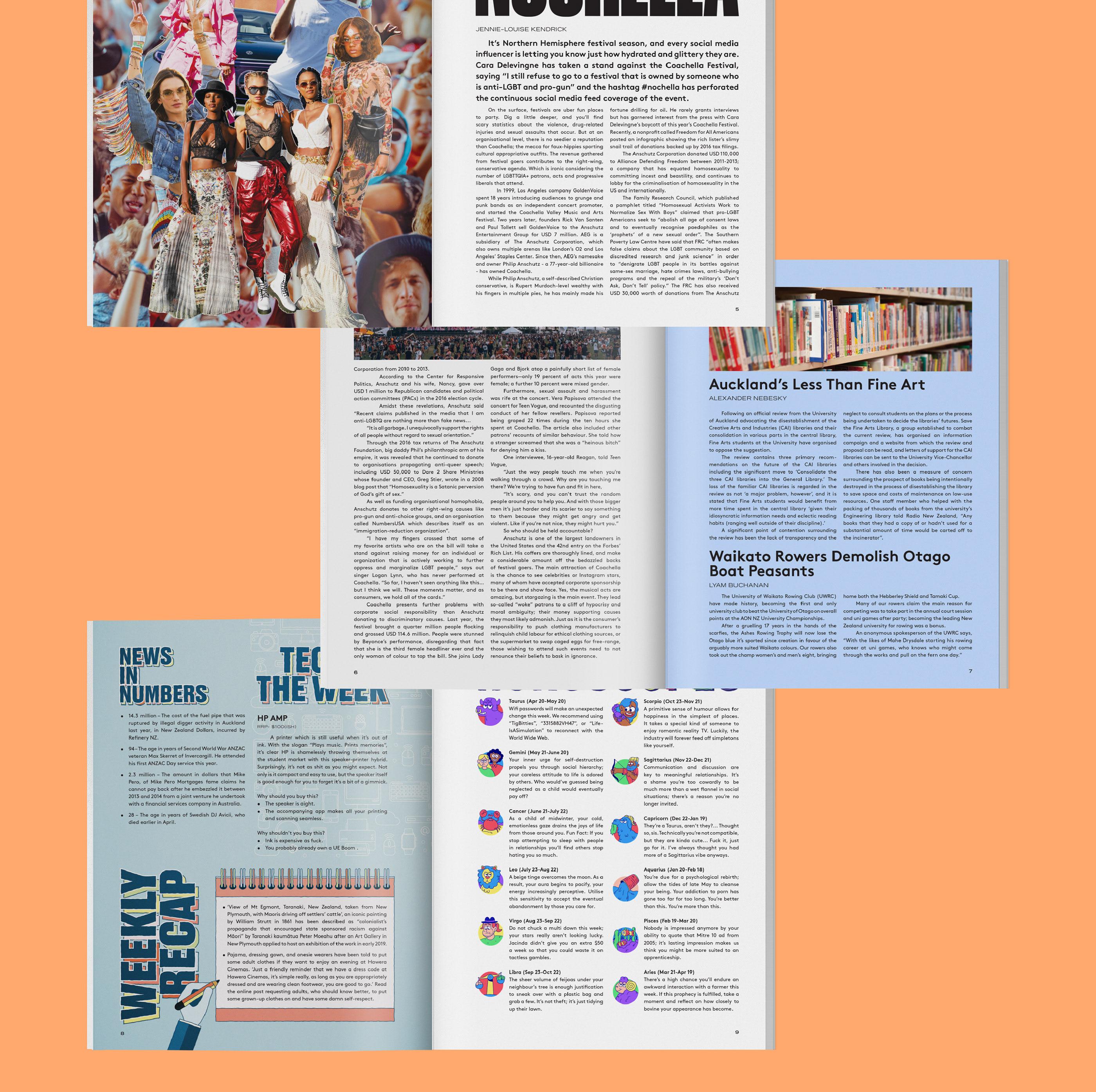 Nexus Magazine Issue 08 on Behance