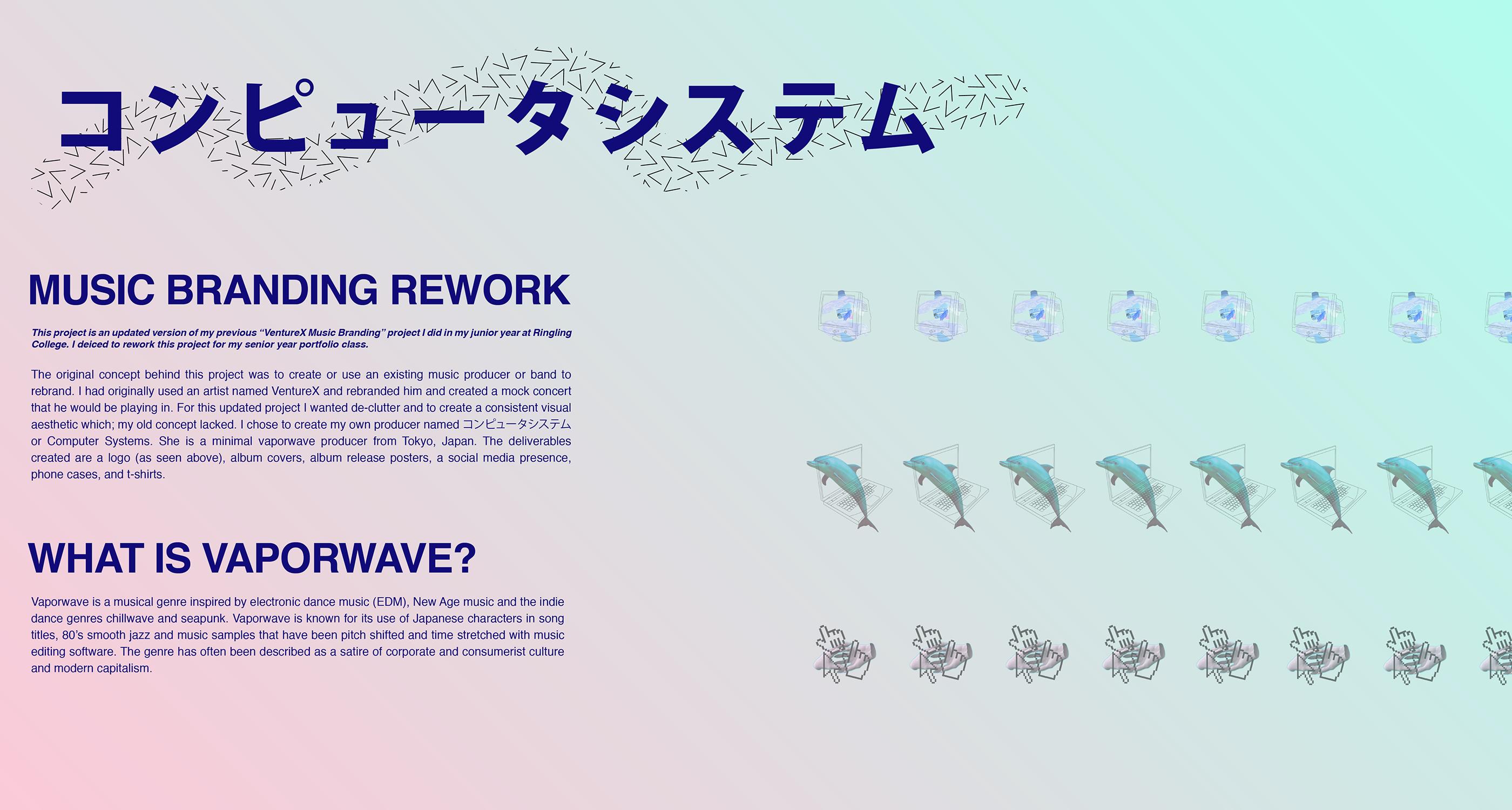Music Branding Rework on Behance