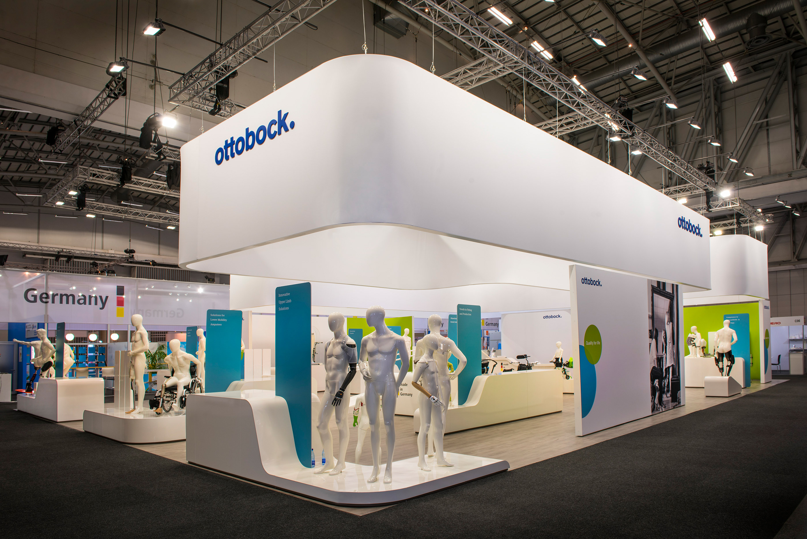 OTTOBOCK @ ISPO 2017 Cape Town South Africa on Behance