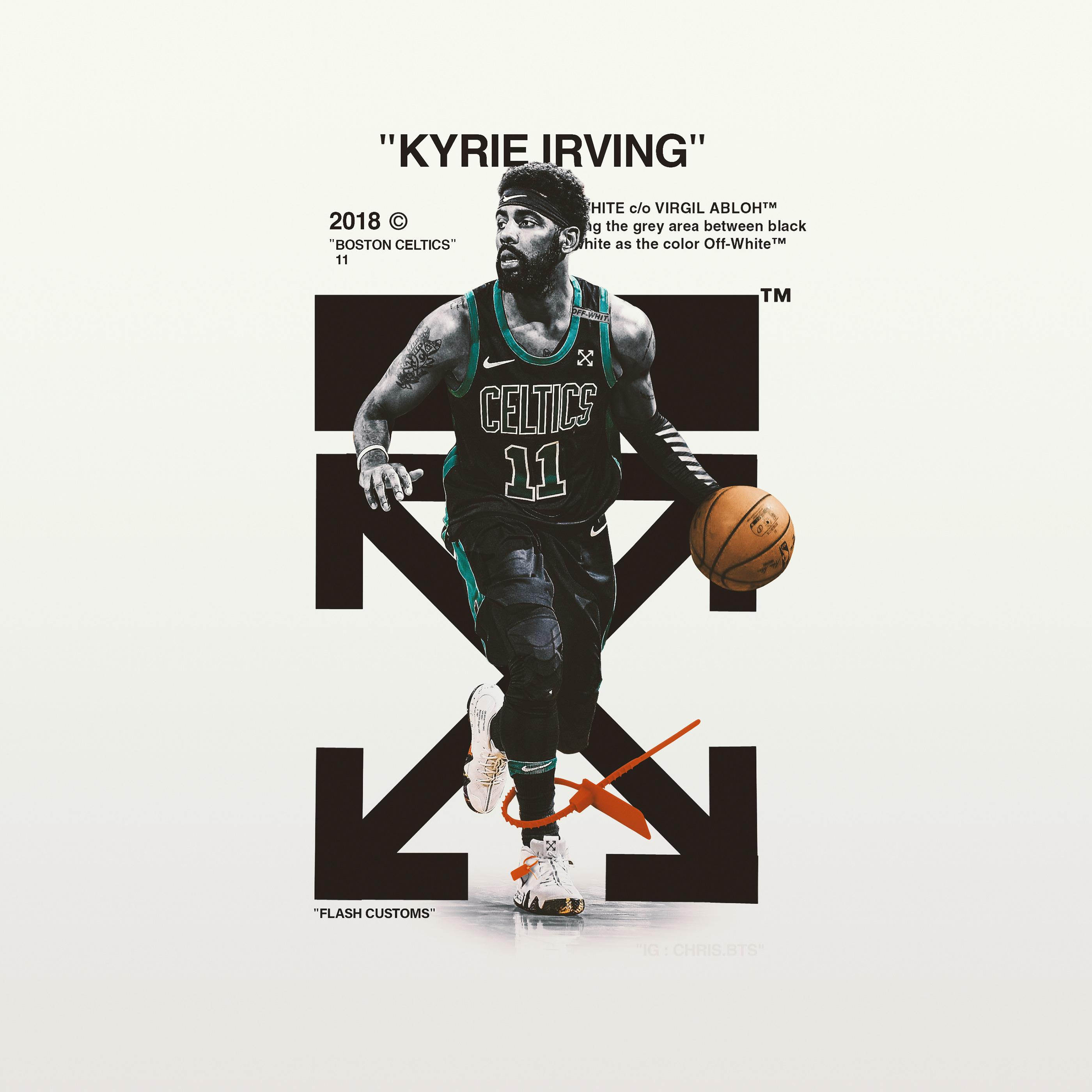 Off-White Kyrie Irving Design on Behance