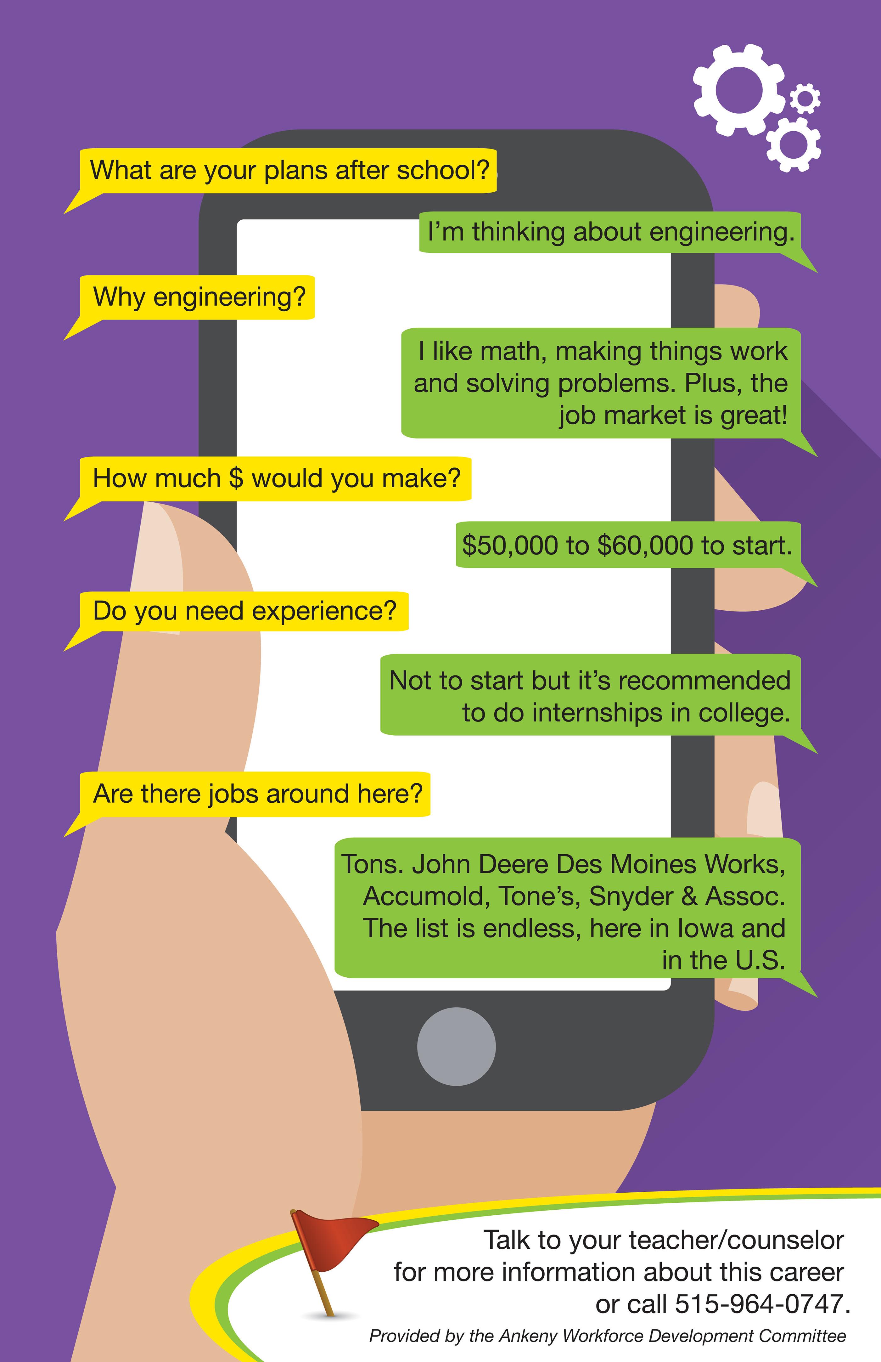 Ankeny Workforce Development Poster Series on Behance