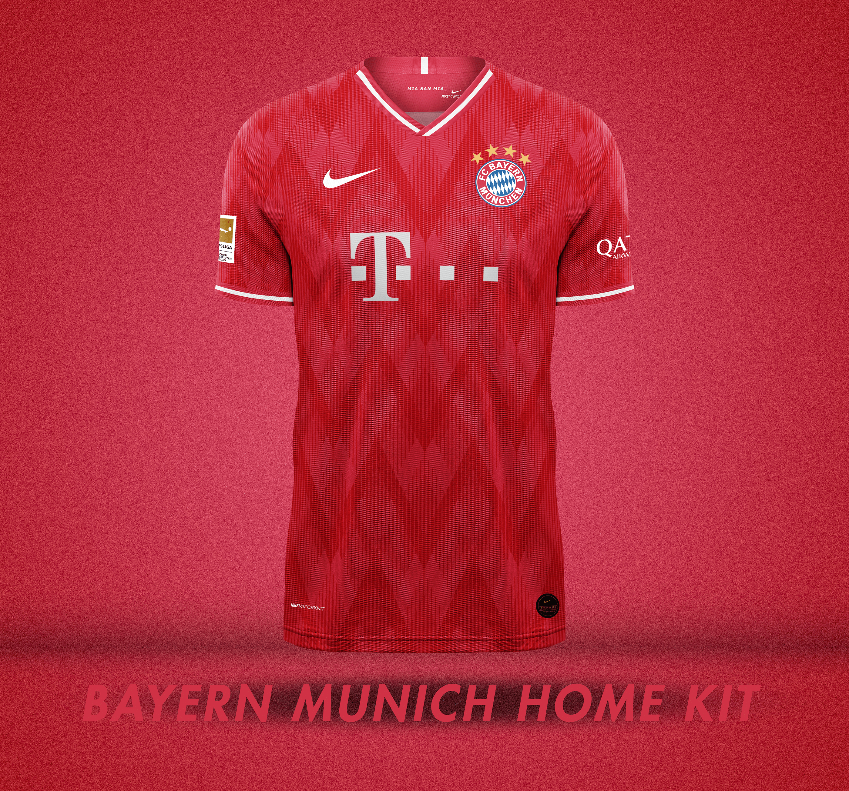 new arrival d264c ba95b Nike x Bayern Munich Kit Concept on Behance