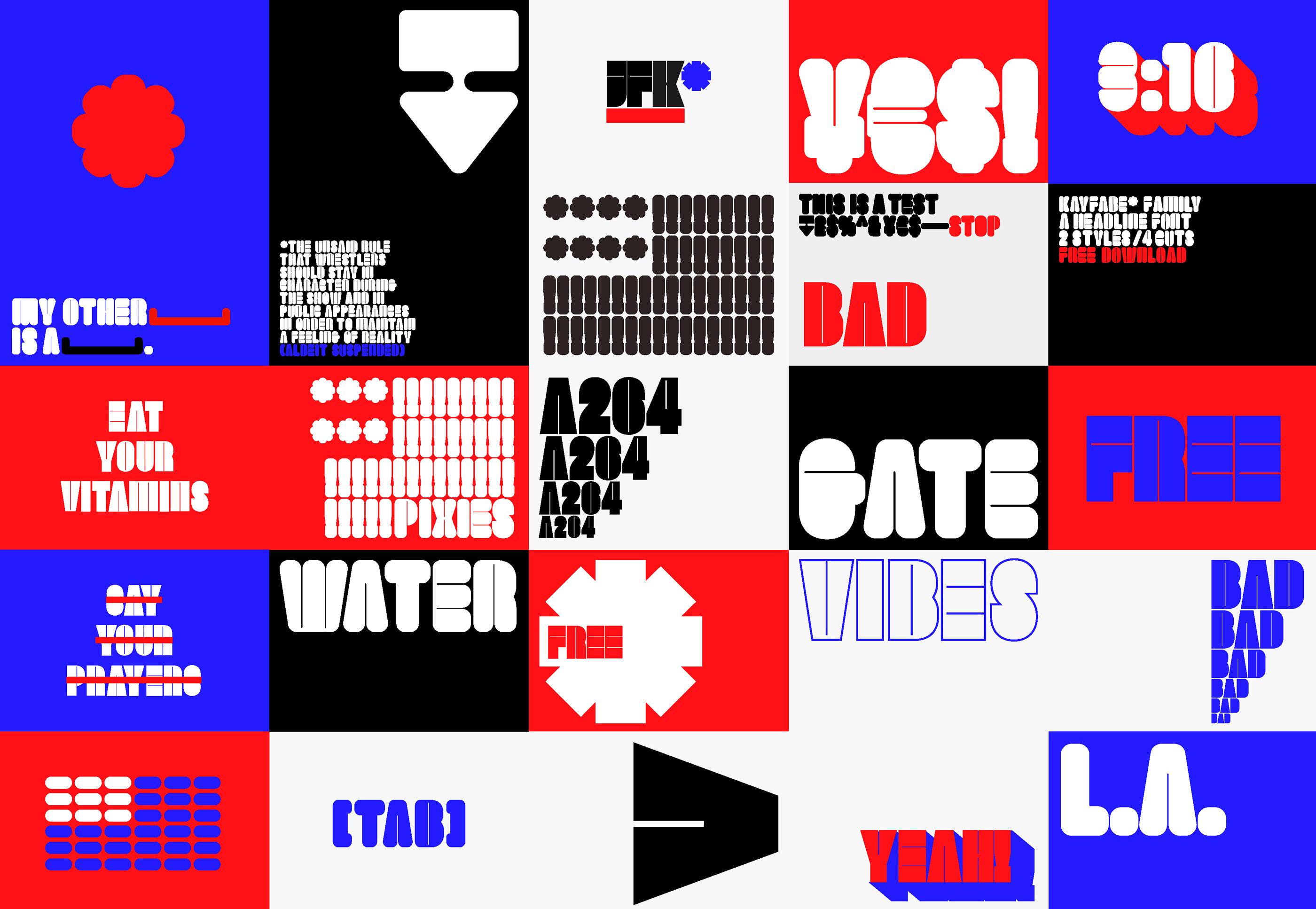 Kayfabe Font Family on Behance