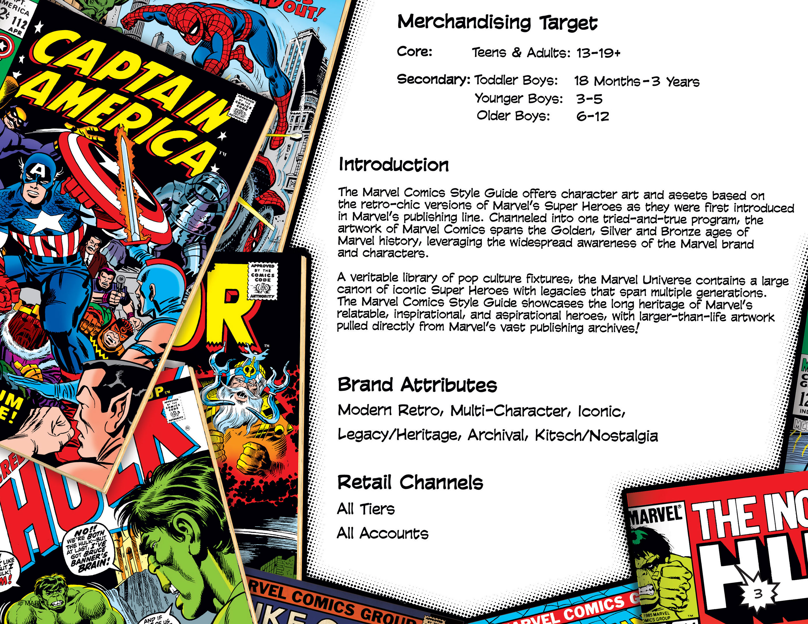 Marvel Comics Style Guide on Behance