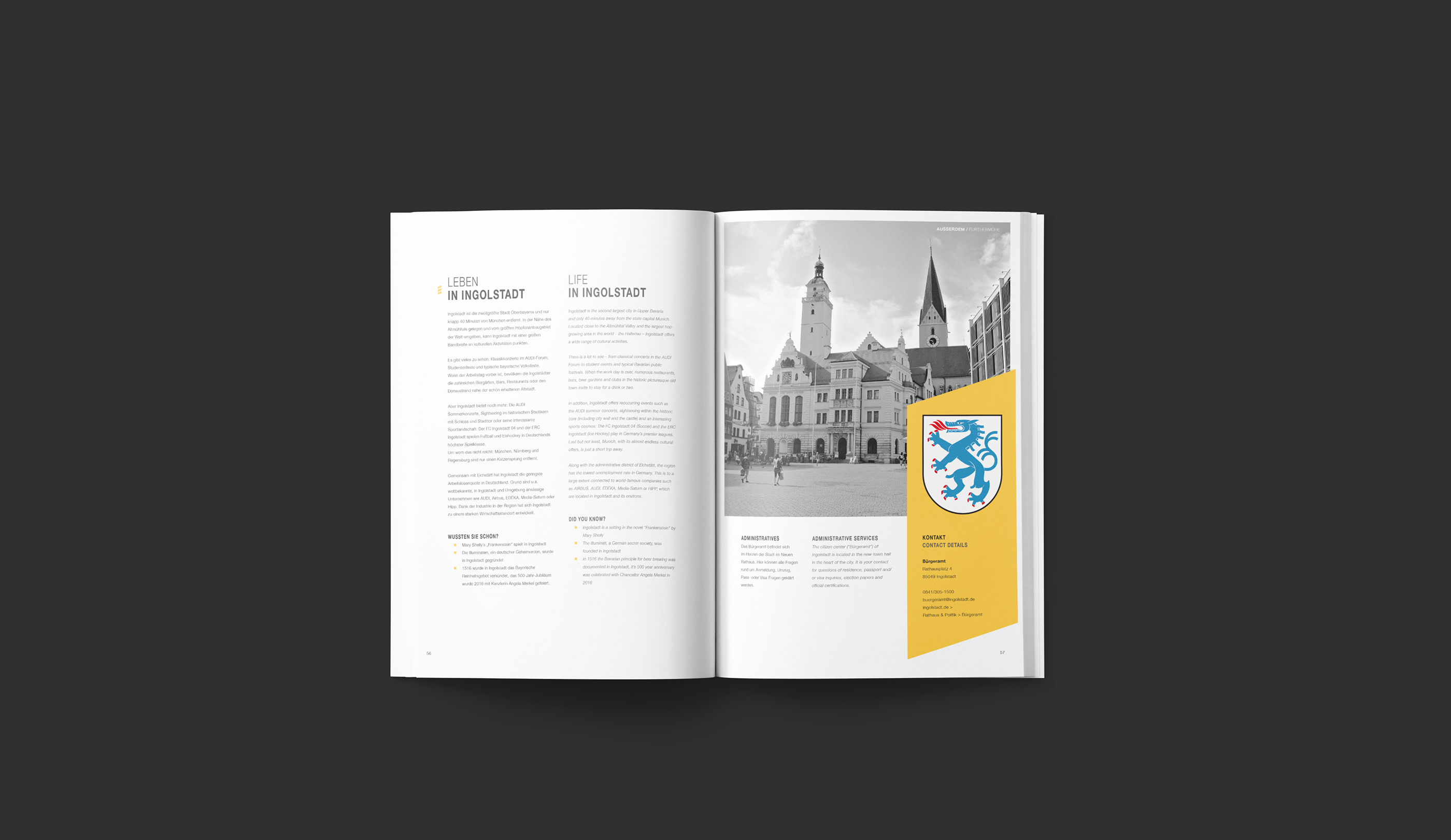 WFI Ingolstadt Handbuch | Editorial Design on Behance