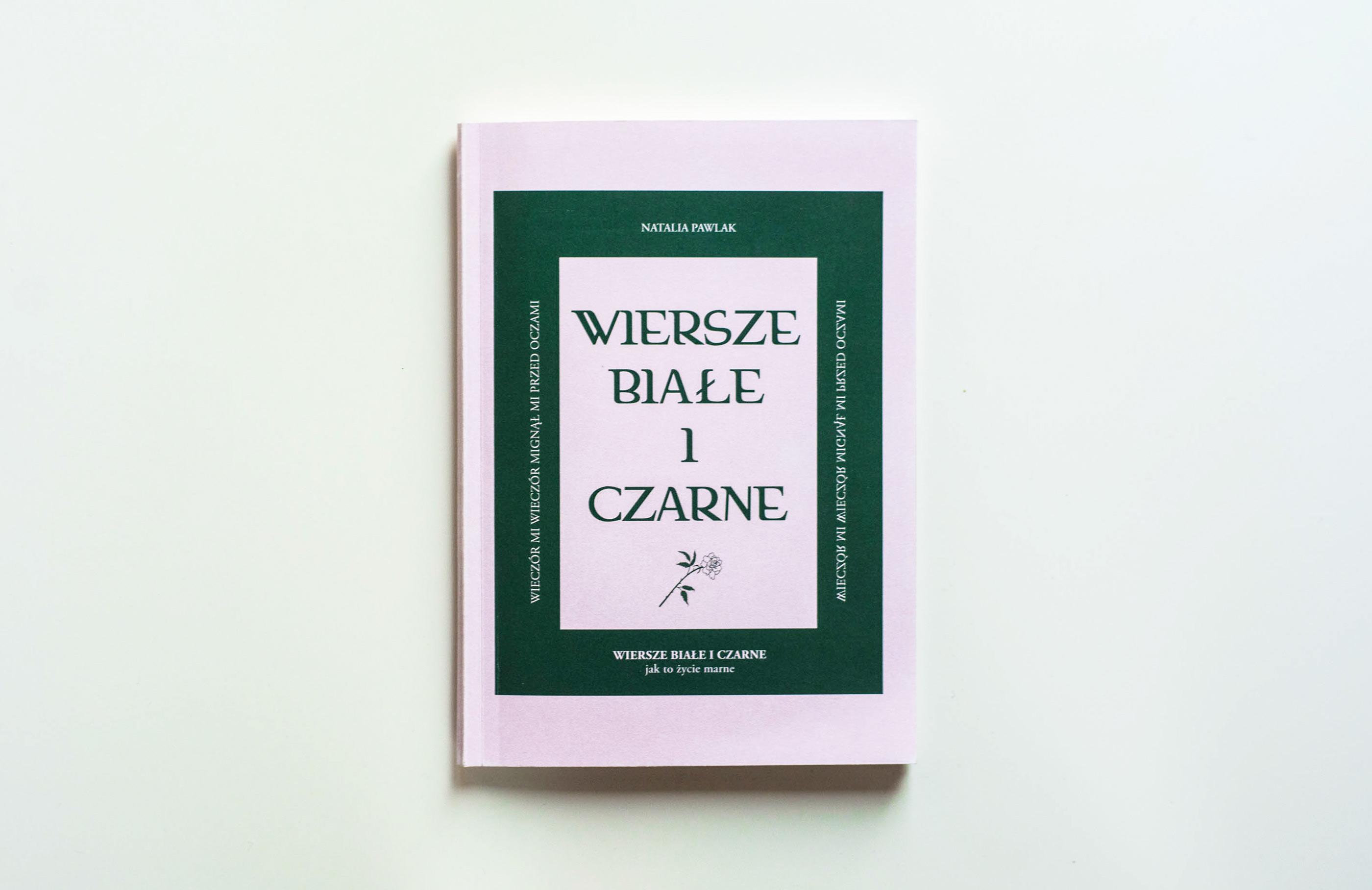 Wiersze Białe I Czarne Poetry Zine On Behance