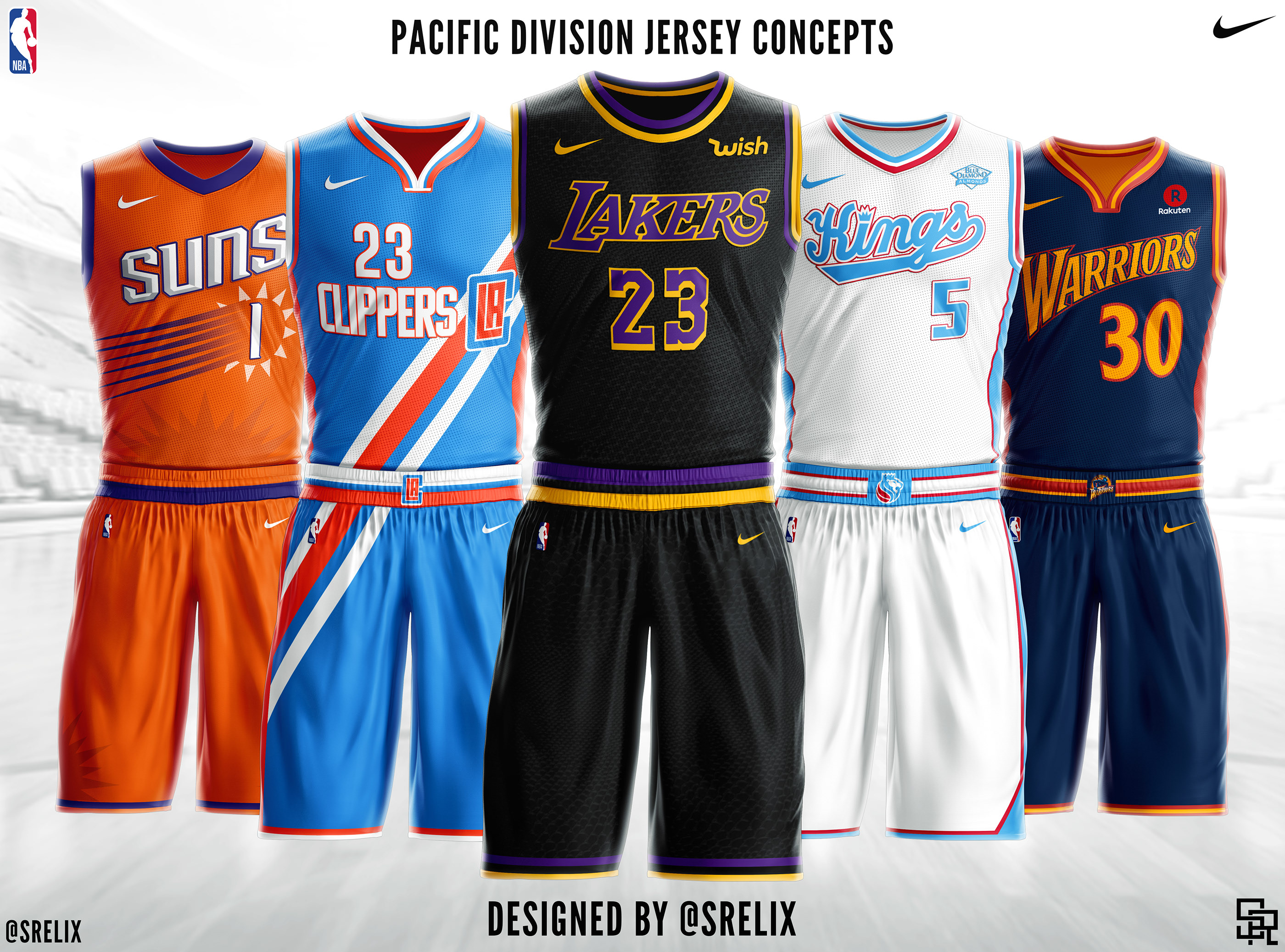reputable site d04b2 9f509 NBA Jersey Concepts on Behance