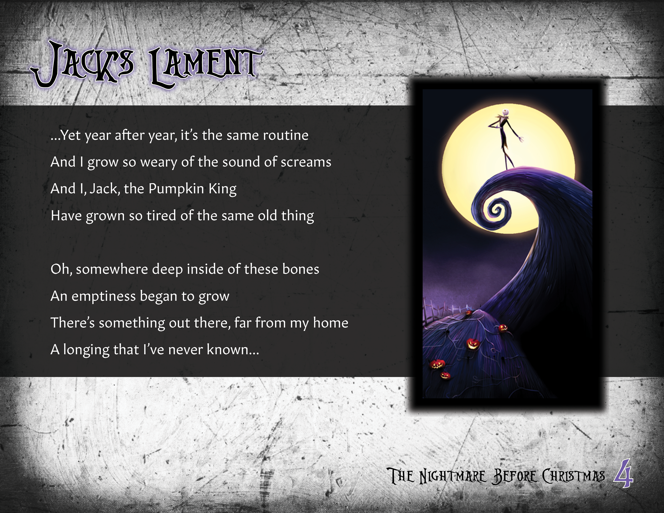 the nightmare before christmas dansk tale