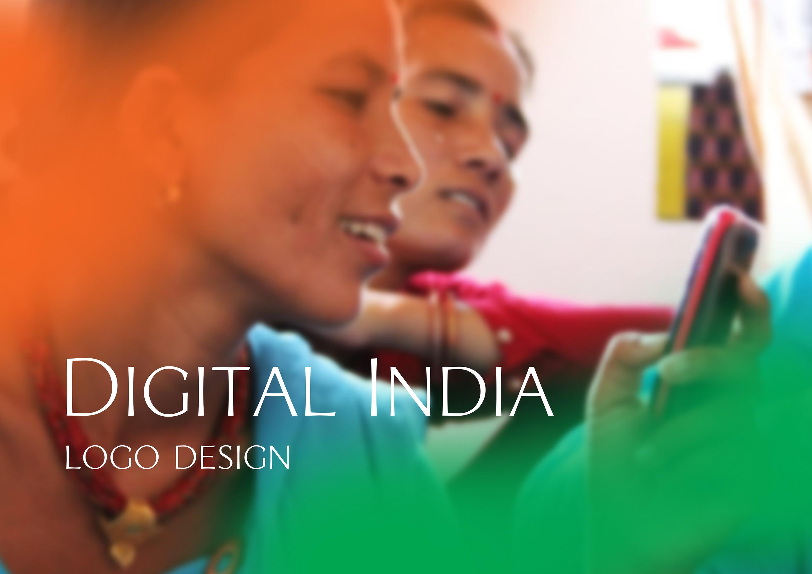 Digital India Logo Design On Behance