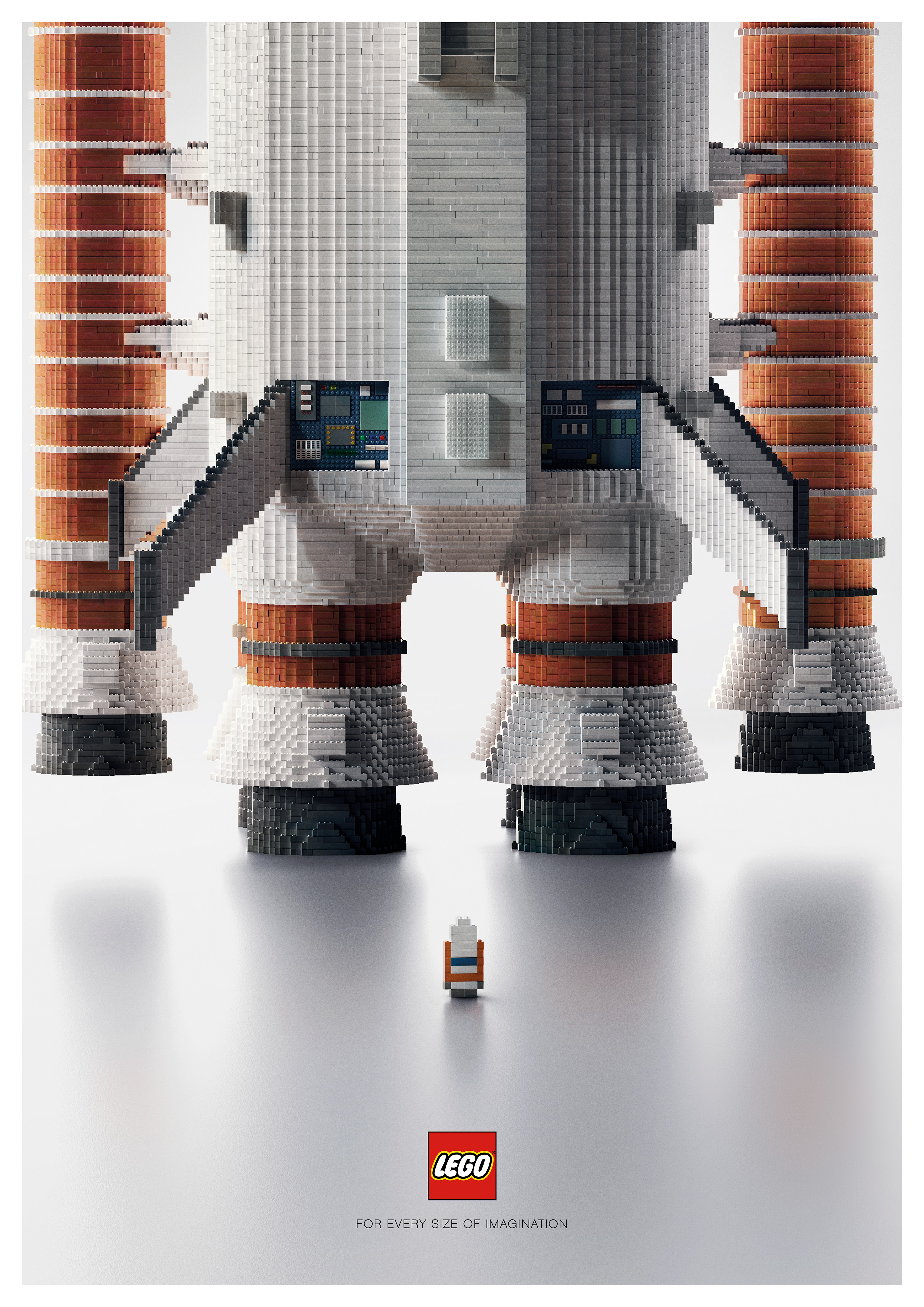 Ogilvy & Mather's creative and genius Lego campaigns