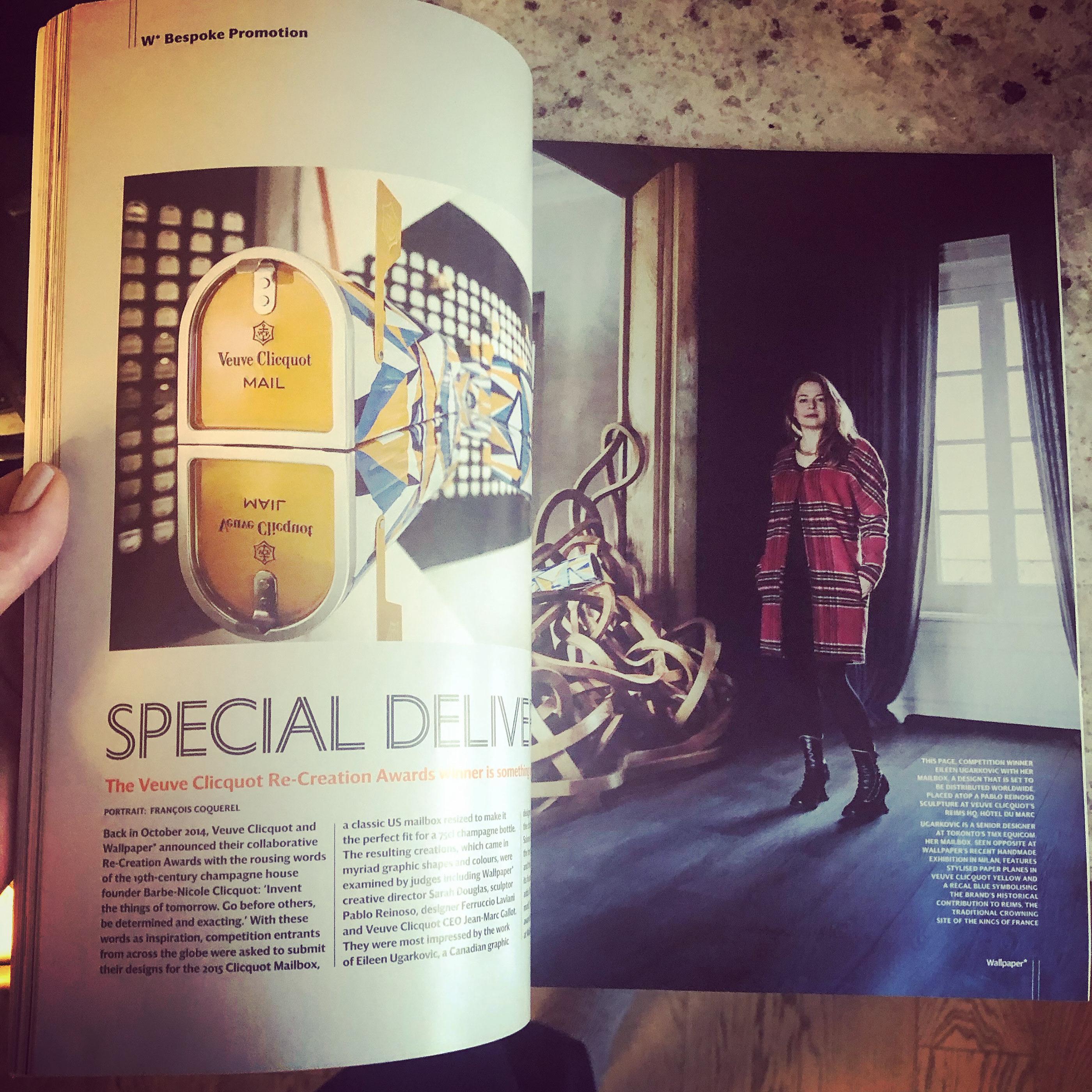 Wallpaper Veuve Clicquot Recreation Awards Winner On Behance