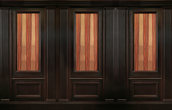 INTERIOR WITH ROSBY WOOD WALL PANEL SYSTEM BARON. ROSBY BRANDED WOOD WALL PANELS on Behance