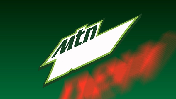 Mountain Dew Animated Logo  logo
