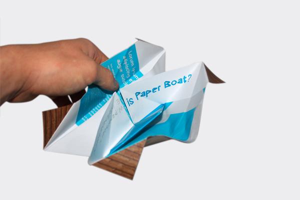 paper boat concepts identity Typeface font graphic Bart van Delft Mediadesigner Mediaontwerper Paper Boat Sans