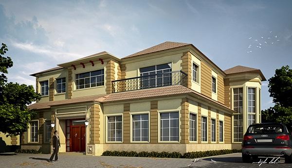 A classic private villa design on adweek talent gallery for Classic villa design
