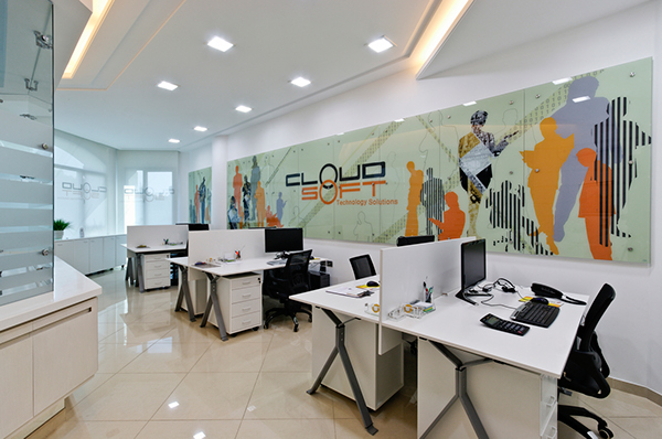 Office graphics on behance for Interior web design