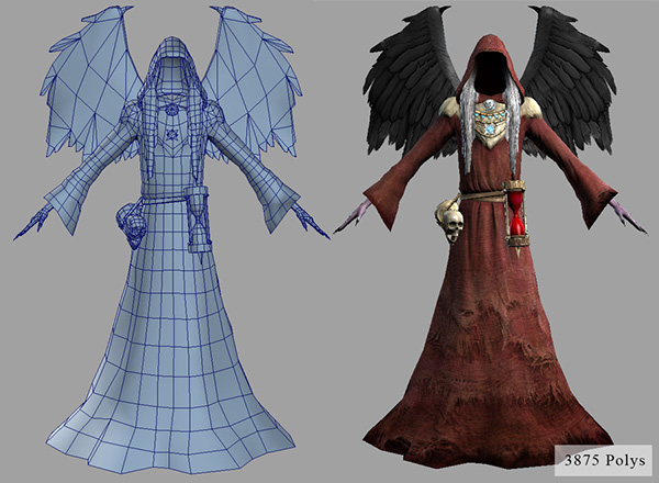 the sims medieval character art