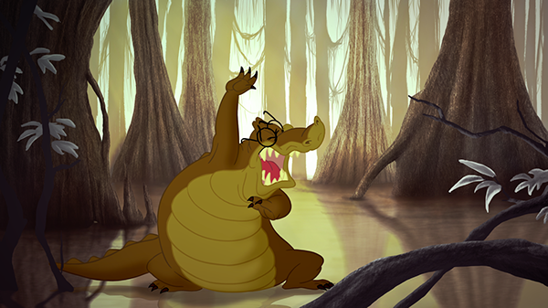 The Princess And The Frog Louis Animation Breakdown On