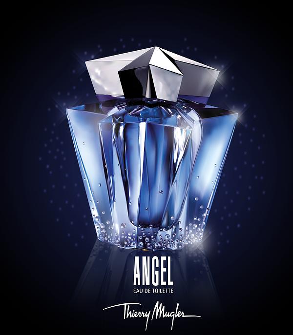 vector angel Illustrator ai graphiste publicité publicity Thierry Mugler luxury luxe design graphist French