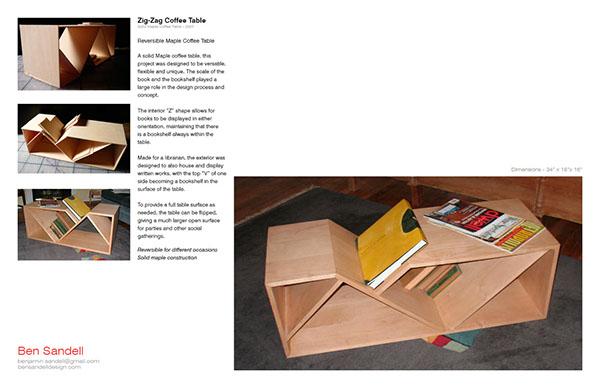 Furniture Design   Student Portfolio