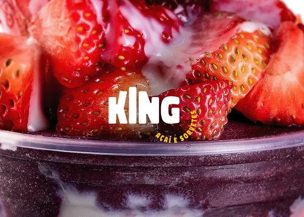 Rebrand King Açaí e Sorvetes