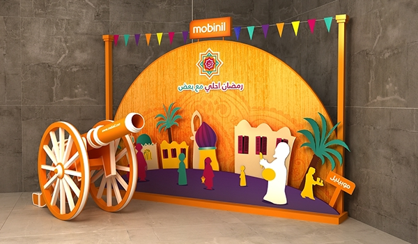 Creative Booth Exhibition : Ramadan corners mobinil on behance