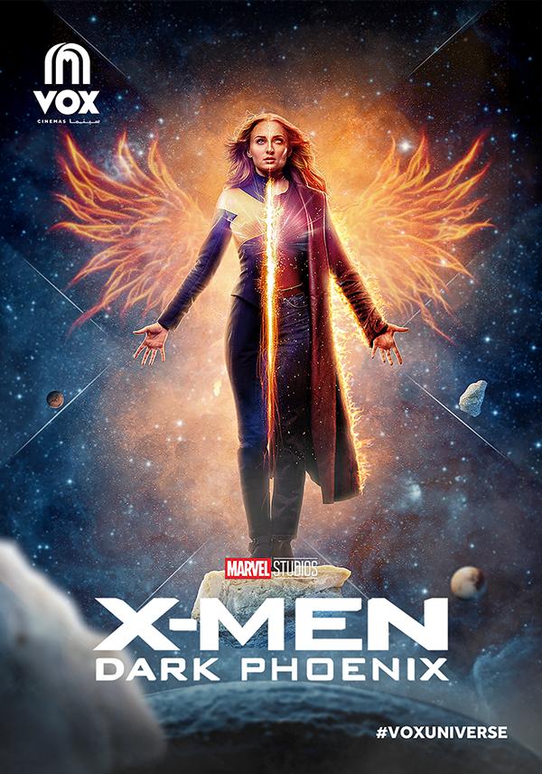Dark Phoenix Movie Poster on Student Show