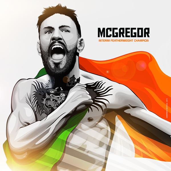 Conor McGregor - UFC Fighter by Anderson Mathias