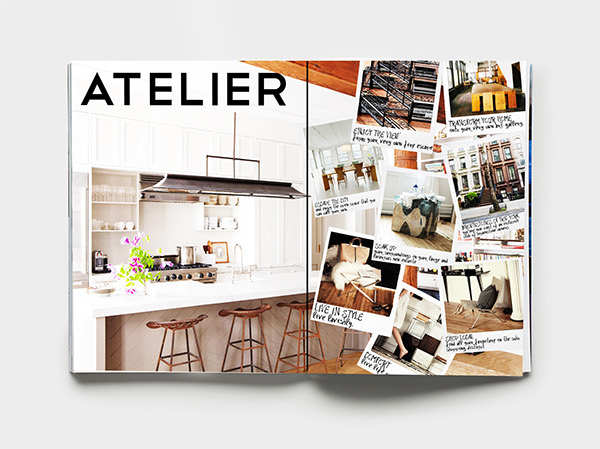 editorial magazine Condo Condo Brochure New York concept development