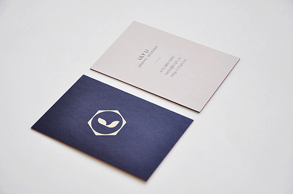 Personal business cards on behance colourmoves