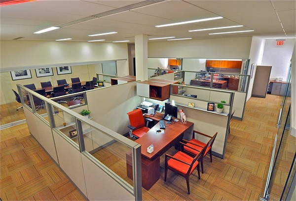 Insurance And Financial Service Office Commercial Contract Interior Design