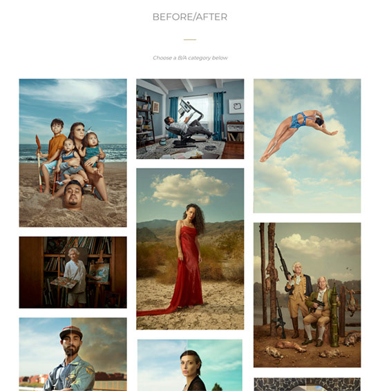 celebrity photography cinematic color grade conceptual Creative Retouching high end retouching hollywood portrait