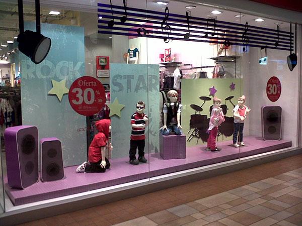 Escaparate tendencia urbano rock on behance - Centro comercial moda shoping ...