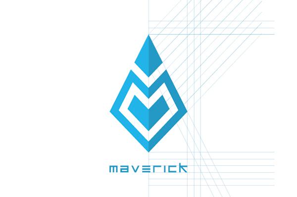 Maverick Logo Design On Behance
