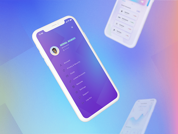 A Mobile Banking App | UI Concept Project